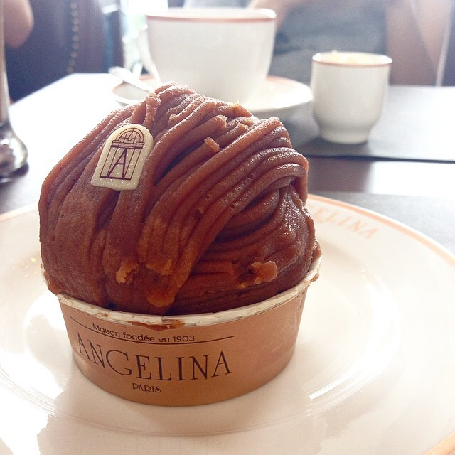 Mont Blanc at Angelina Paris on #foodmento http://foodmento.com/place/4525