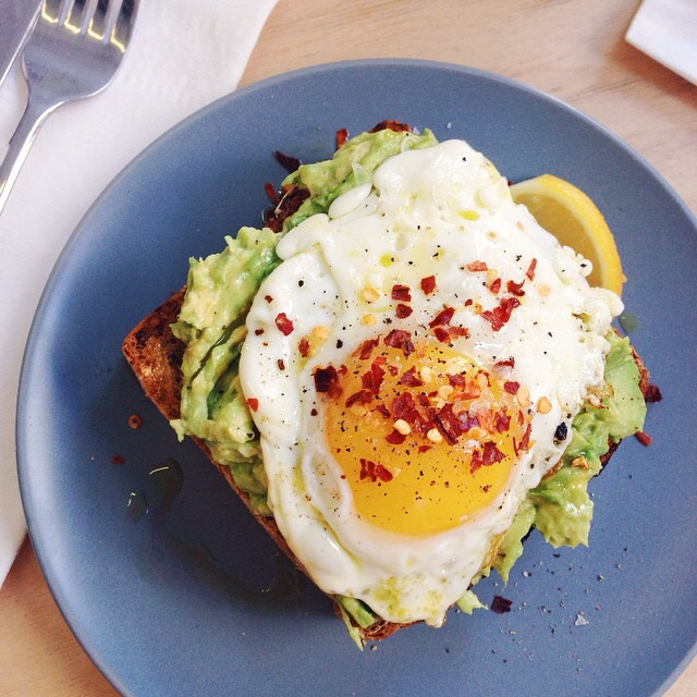 Avocado Toast, Fried Egg at Two Hands on #foodmento http://foodmento.com/place/4537
