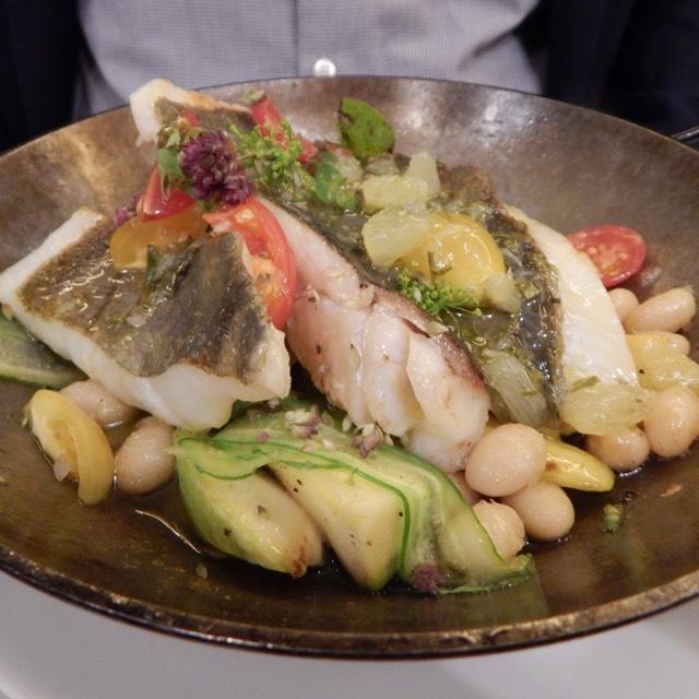 Fish A La Pancha, Fresh Vegetables at Semilla on #foodmento http://foodmento.com/place/4566