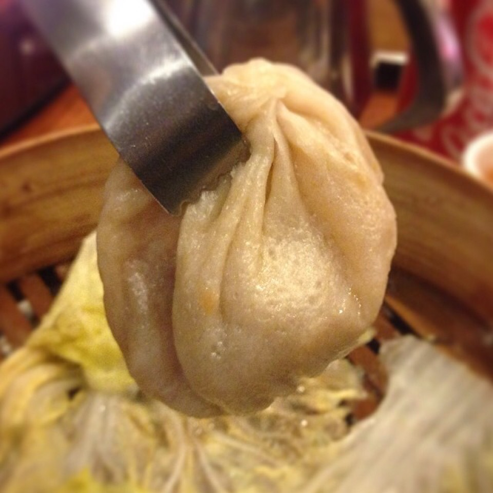 Pork Meat Soup Dumplings (Xiao Long Bao) at Joe's Shanghai 鹿嗚春 on #foodmento http://foodmento.com/place/1248