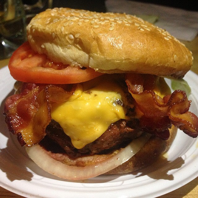 Cheeseburger With Bacon at Corner Bistro on #foodmento http://foodmento.com/place/3562
