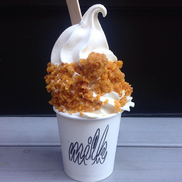 Cereal Milk Soft Serve at Momofuku Milk Bar on #foodmento http://foodmento.com/place/4649