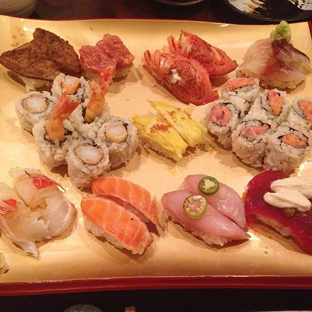 Assorted Sushi, Maki at Sushi Seki on #foodmento http://foodmento.com/place/4719