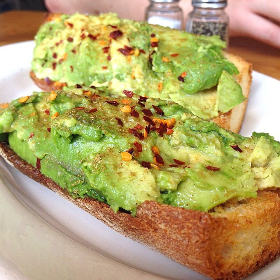 Avocados Toast at The Commons Chelsea on #foodmento http://foodmento.com/place/4732