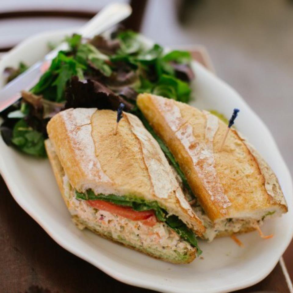 Lemon Pepper Chicken Salad Sandwich at Westville East on #foodmento http://foodmento.com/place/3330