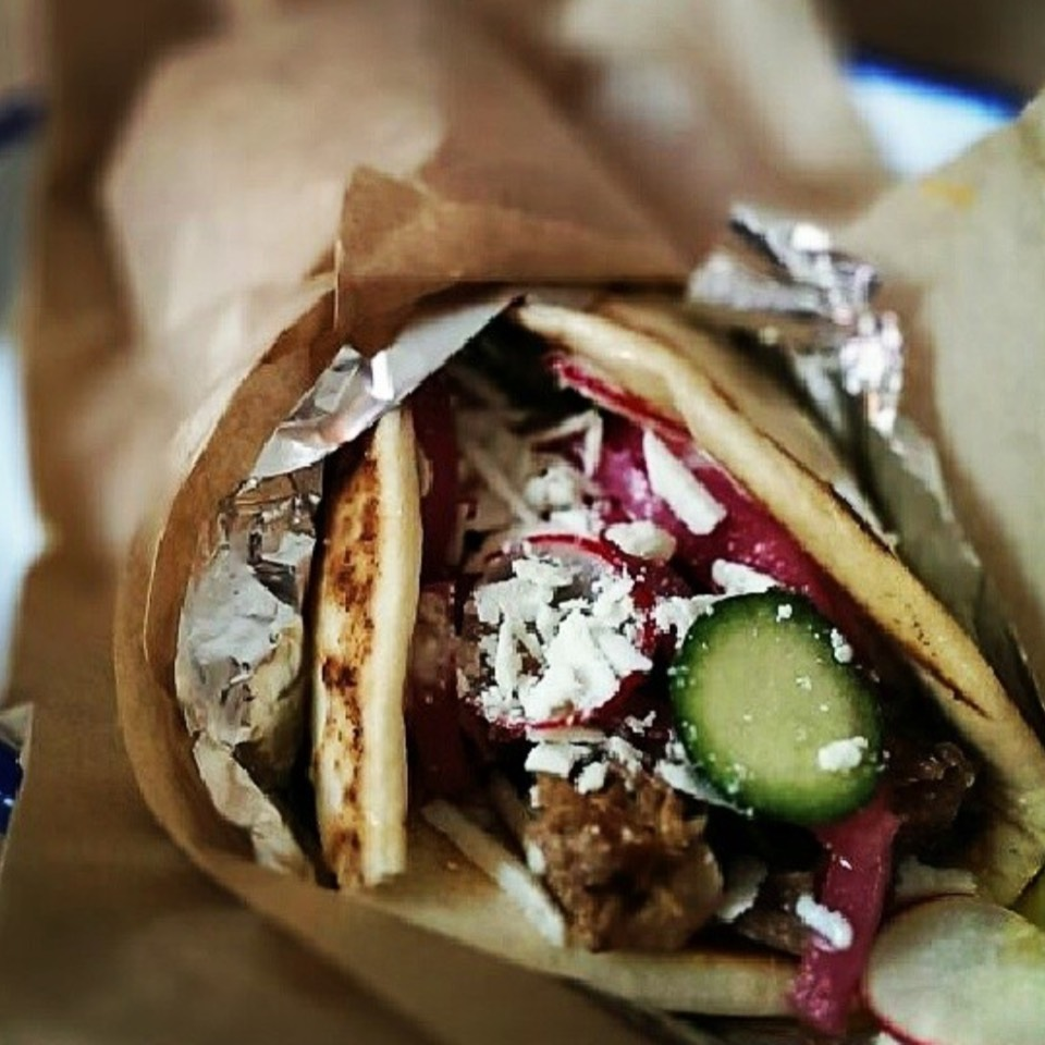 Pork Shoulder Wrap at Souvla on #foodmento http://foodmento.com/place/6562