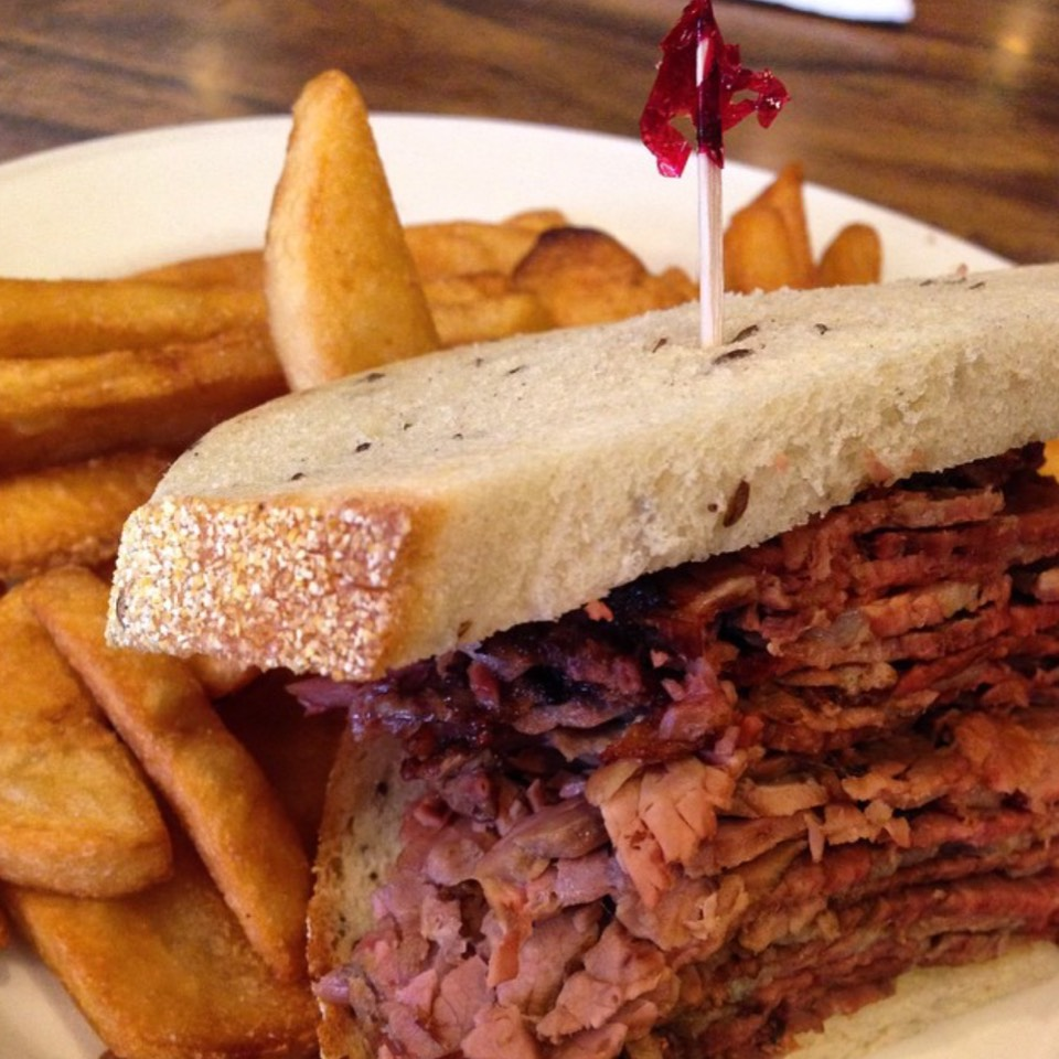 Hot Pastrami - Sandwiches at Nate 'n Al Delicatessen on #foodmento http://foodmento.com/place/7768