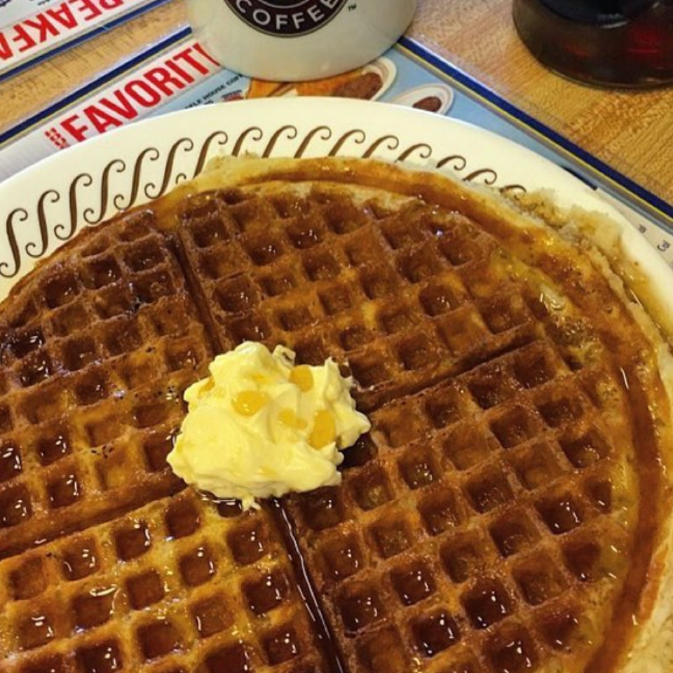 Pecan Waffles at Waffle House on #foodmento http://foodmento.com/place/10180