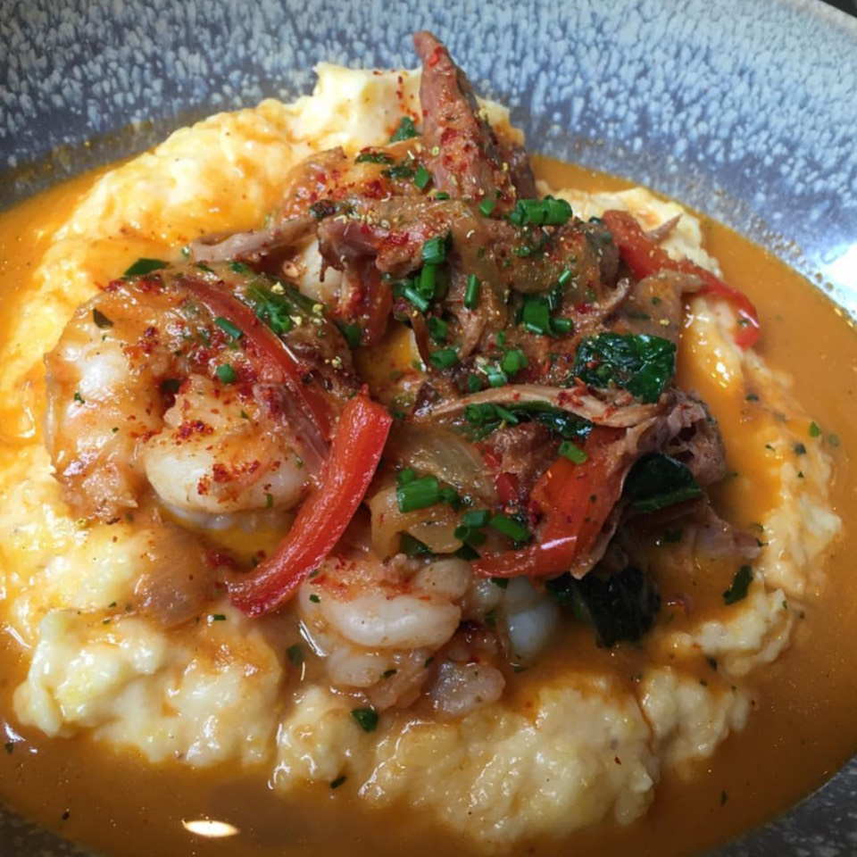 Shrimp & Grits at Husk on #foodmento http://foodmento.com/place/6176