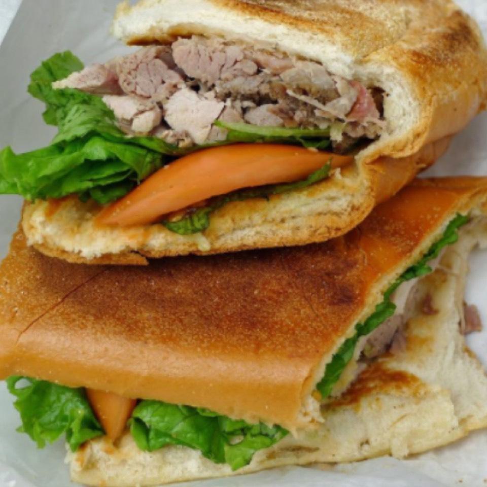 Roast Pork Pernil Sandwich at Casa Adela on #foodmento http://foodmento.com/place/5733