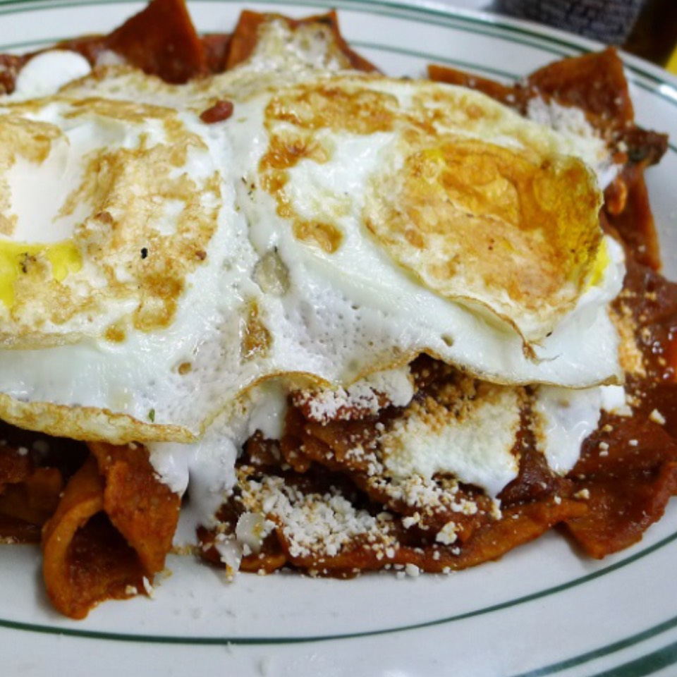 Chilaquiles (Cecina Dried Beef) at Guadalajara de Dia II on #foodmento http://foodmento.com/place/5838