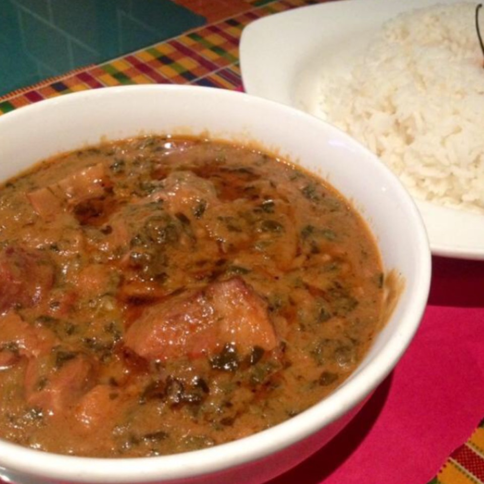 Mafe (Senegalese Lamb Stew) at La Savane on #foodmento http://foodmento.com/place/5852