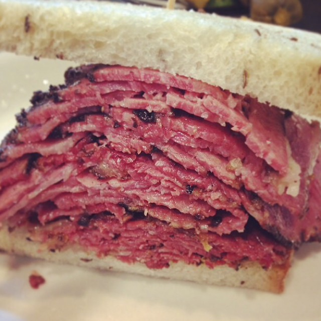 Our World Famous Hot Pastrami Sandwich at Pastrami Queen on #foodmento http://foodmento.com/place/4883
