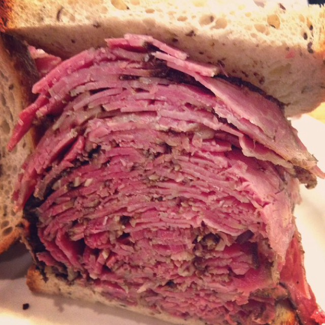 Pastrami at Sarge's Delicatessen on #foodmento http://foodmento.com/place/4887