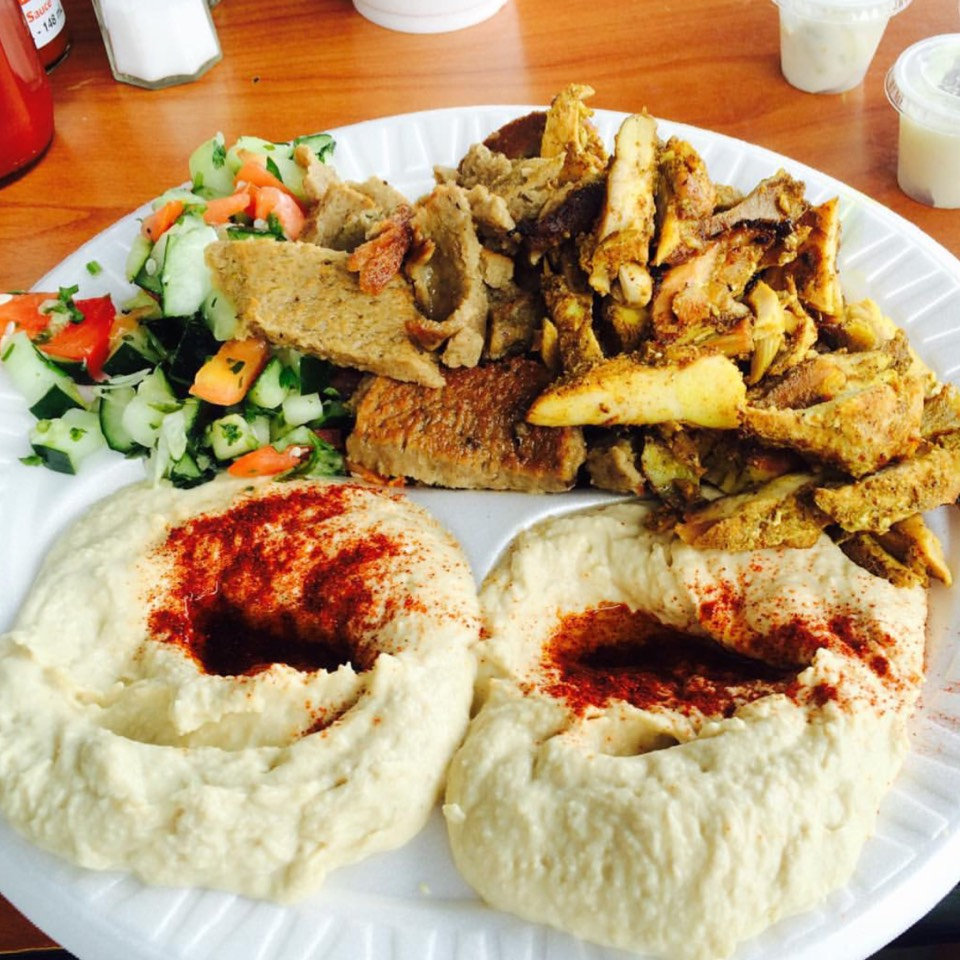 Chicken Kafta Plate, Eggplant Salad, Hummus, Baba at Pita Kitchen on #foodmento http://foodmento.com/place/8575