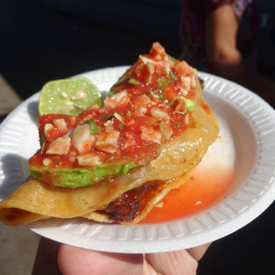 Crispy Shrimp Taco at Mariscos Jalisco on #foodmento http://foodmento.com/place/8576