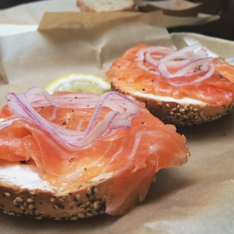 Bagel With Lox at Wexler's Deli on #foodmento http://foodmento.com/place/8582