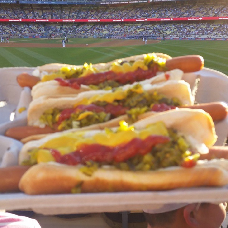 Dodger Dog at Dodger Stadium on #foodmento http://foodmento.com/place/8583
