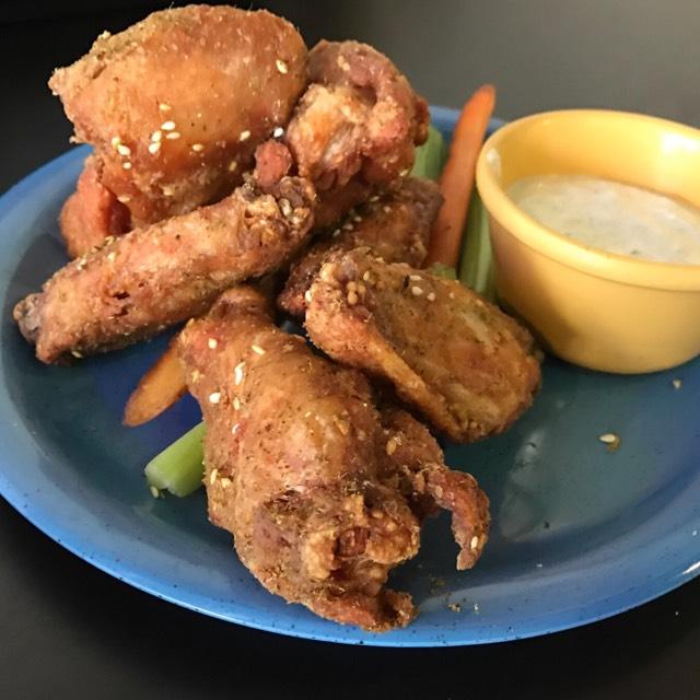 Za-atar Wings from Samesa (CLOSED) on #foodmento http://foodmento.com/dish/45291