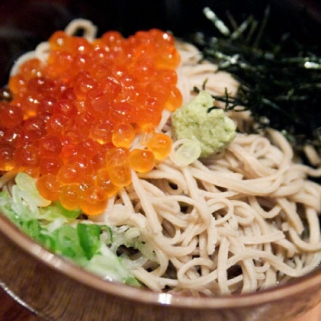 15 East Hand Made & Handcut Soba Noodles with Fresh Wasabi - Main Course at 15 East on #foodmento http://foodmento.com/place/1581