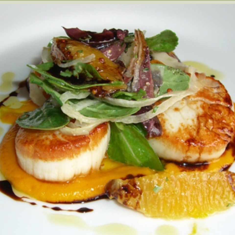 Pan Seared Maine Scallops at Terrapin Creek Cafe on #foodmento http://foodmento.com/place/6560