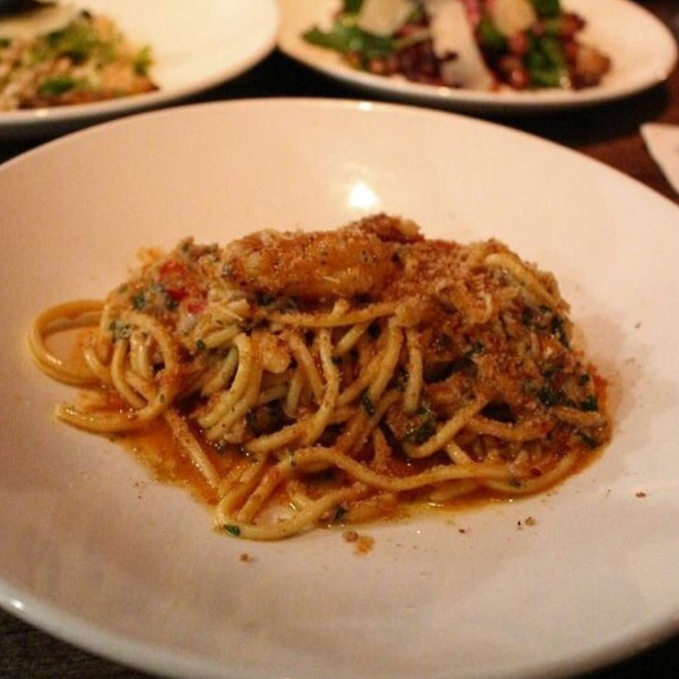 Spaghetti With Sardines at Sotto on #foodmento http://foodmento.com/place/6644