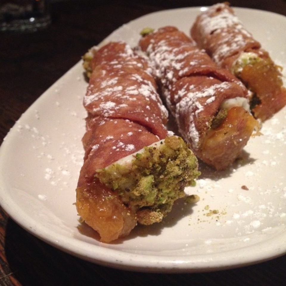 Cannoli Siciliani - Dessert at Sotto on #foodmento http://foodmento.com/place/6644
