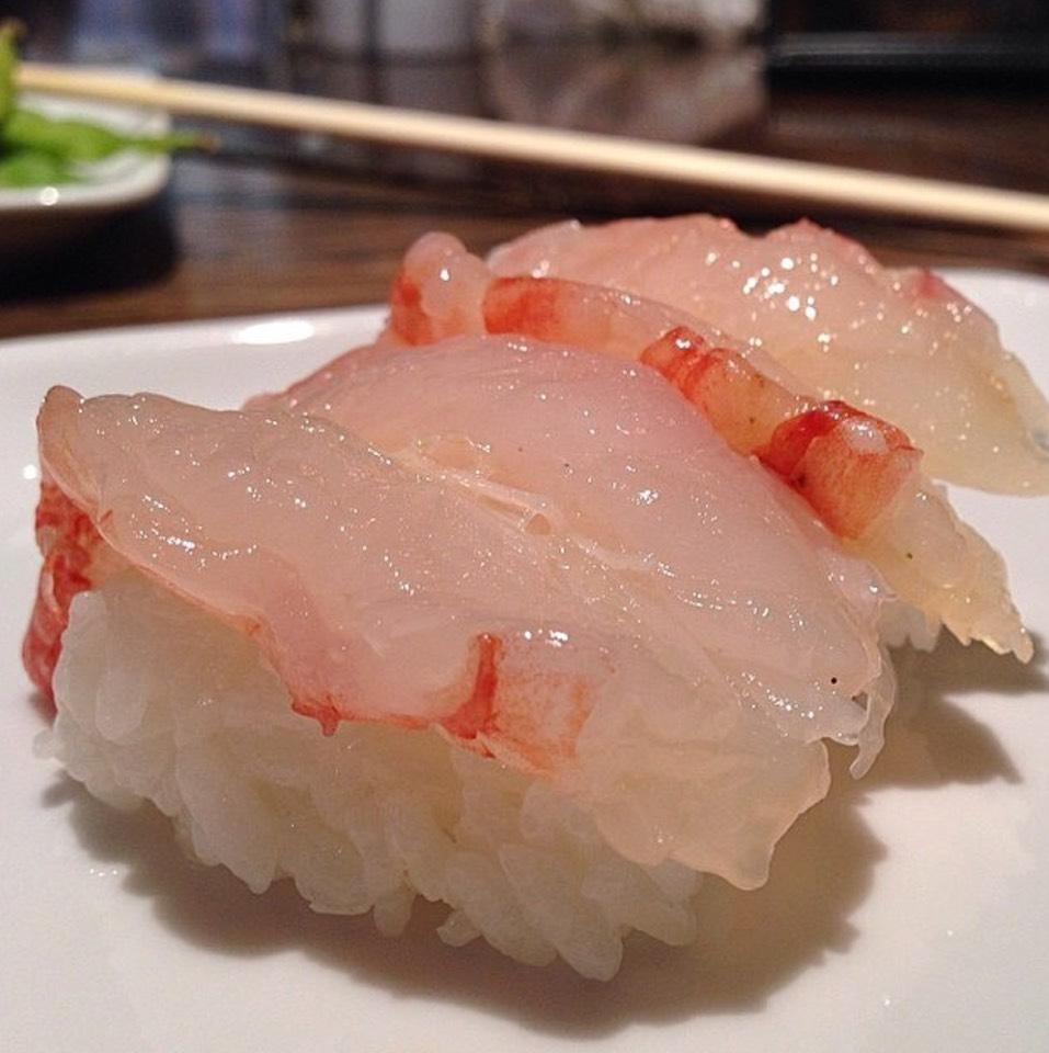 Sweet Shrimp Sushi at SUGARFISH on #foodmento http://foodmento.com/place/689