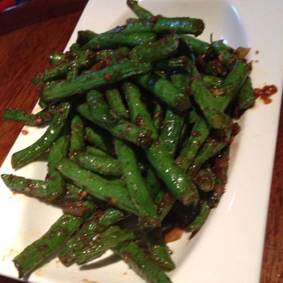 Szechuan Green Beans at Betelnut on #foodmento http://foodmento.com/place/6607
