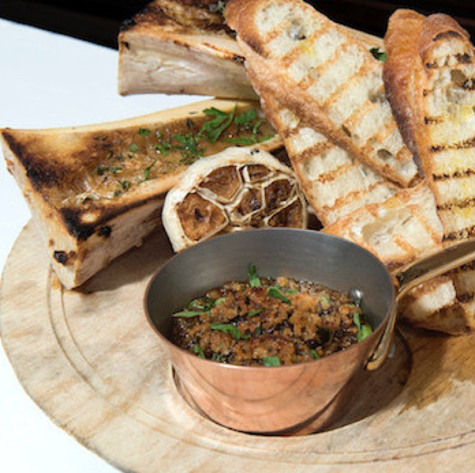 Roasted Bone Marrow at Augustine on #foodmento http://foodmento.com/place/10930