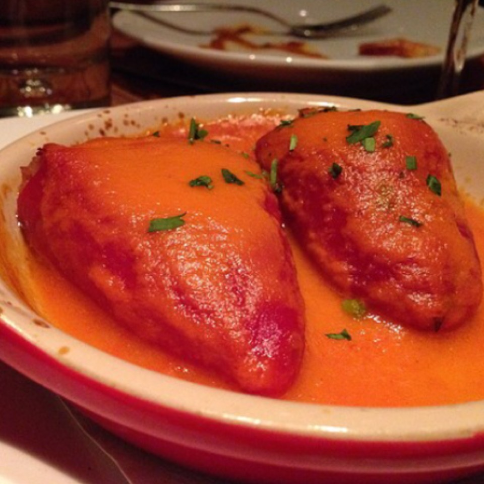 Wild Boar Stuffed Piquillo Peppers at Canela Bistro & Wine Bar on #foodmento http://foodmento.com/place/6669