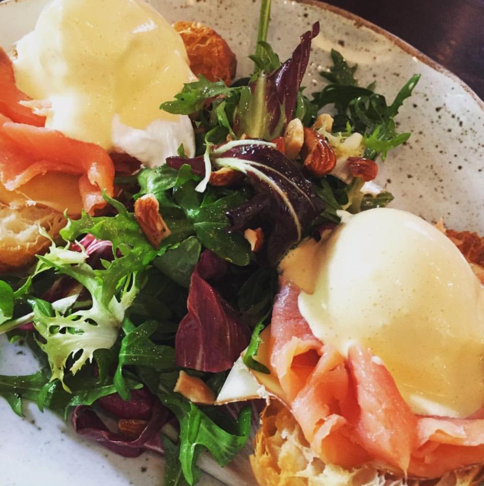Salmon Eggs Benedict at Roast (โรสท์) on #foodmento http://foodmento.com/place/7398