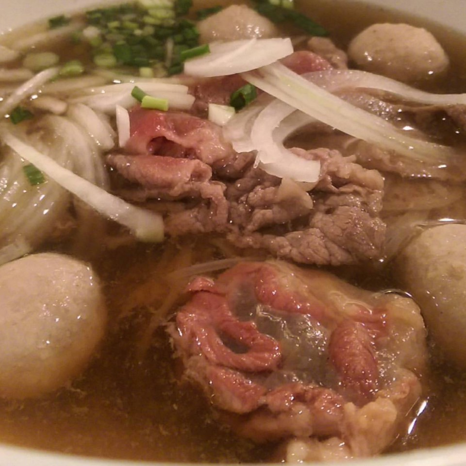Beef Pho Noodle Soup at เฝอ49 (Phở49) Photynine on #foodmento http://foodmento.com/place/8619