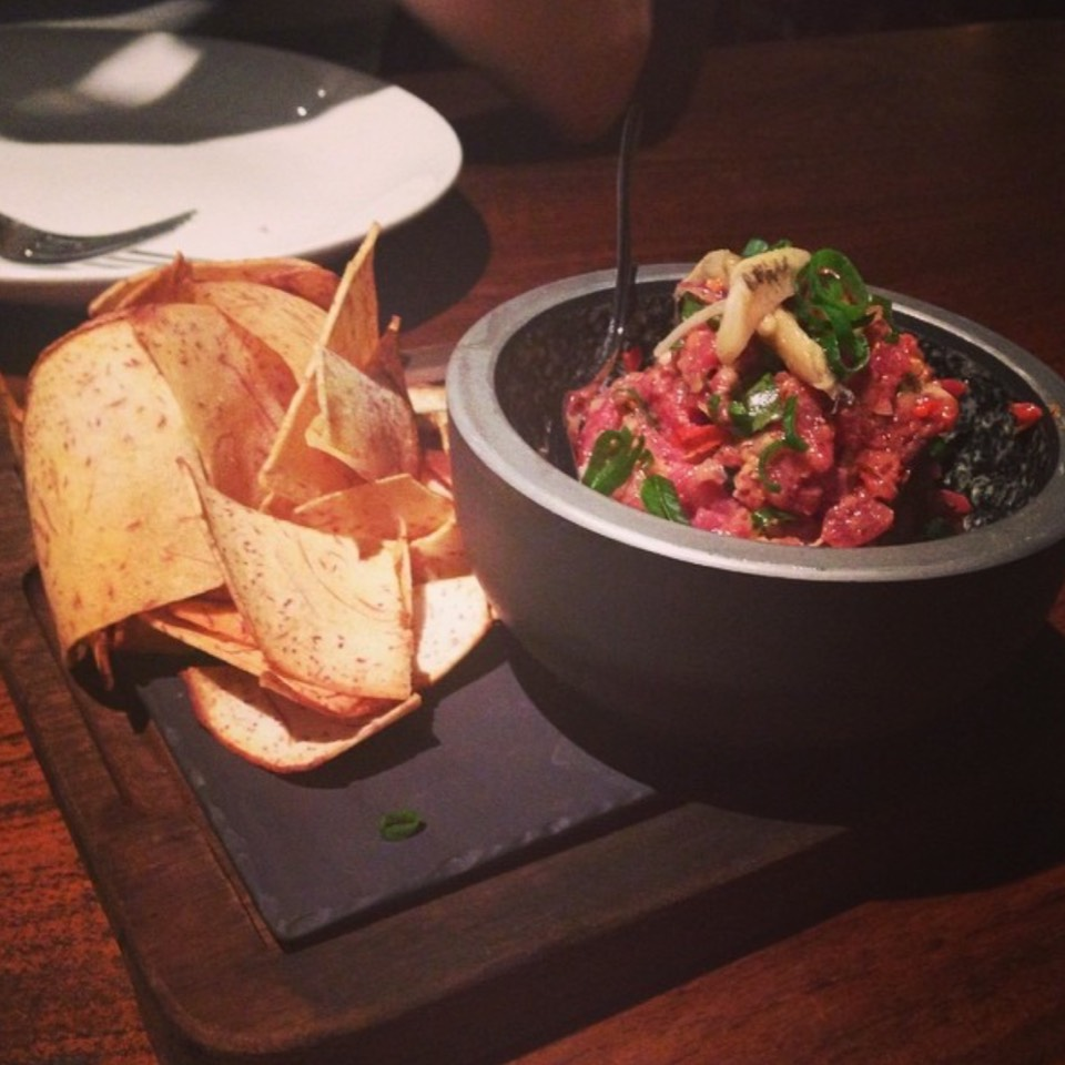 Beef Tartare at MAMA SAN by Will Meyrick on #foodmento http://foodmento.com/place/8801