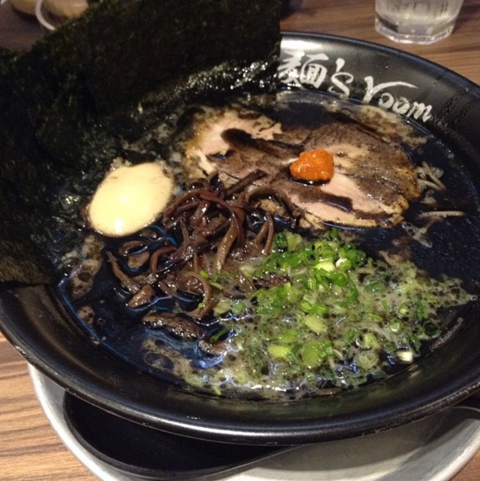 Black Tora Ramen (Black Garlic) at Kamitora Ramen 神虎拉麵 on #foodmento http://foodmento.com/place/8813