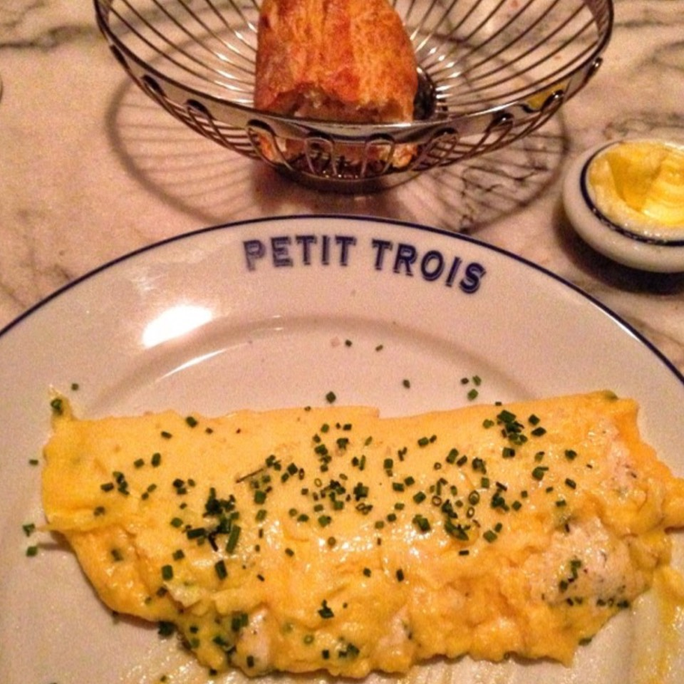 Omelette at Petit Trois on #foodmento http://foodmento.com/place/8394