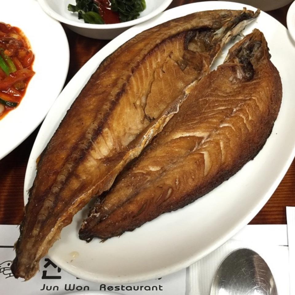 Pan Fried Sole Fish at Jun Won on #foodmento http://foodmento.com/place/8555