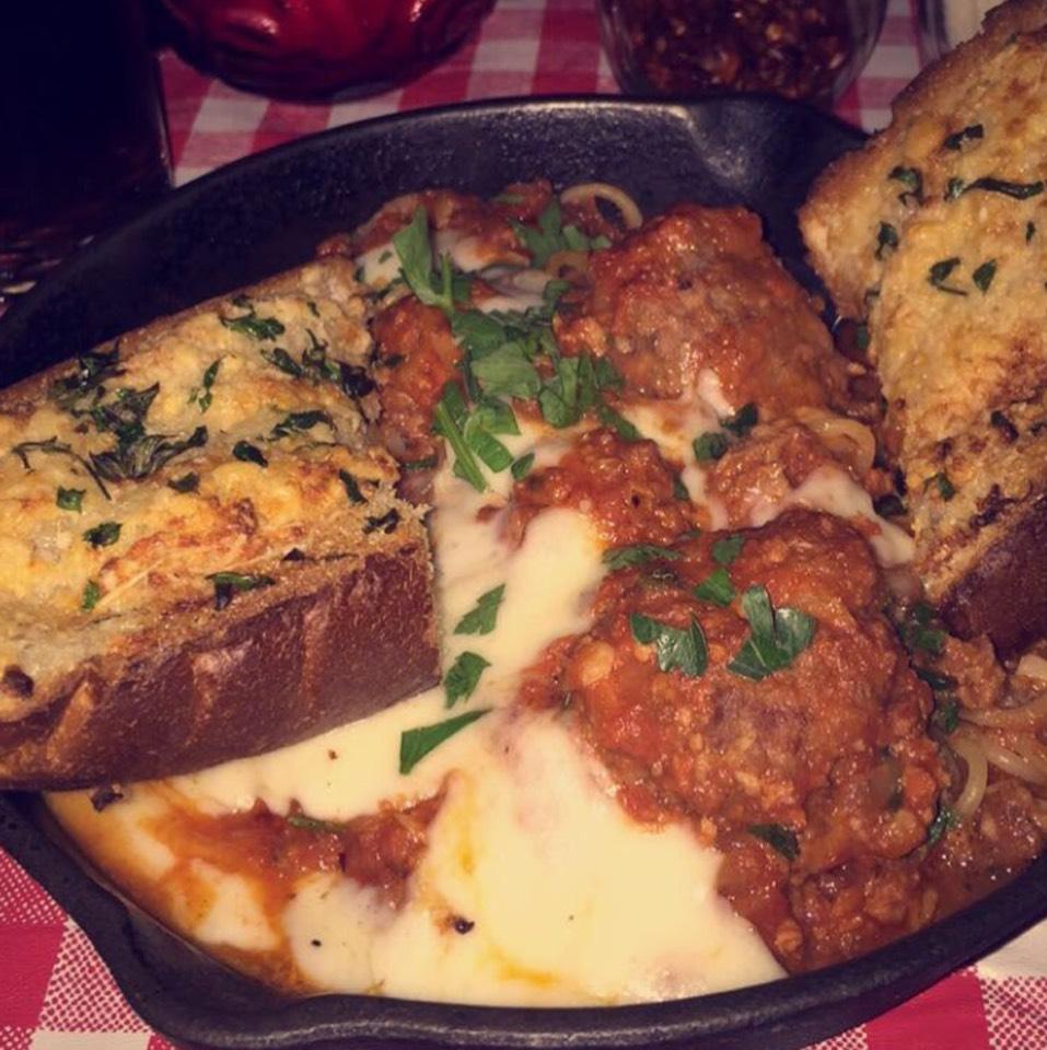 Spaghetti & Meatballs at Jones Hollywood on #foodmento http://foodmento.com/place/8564