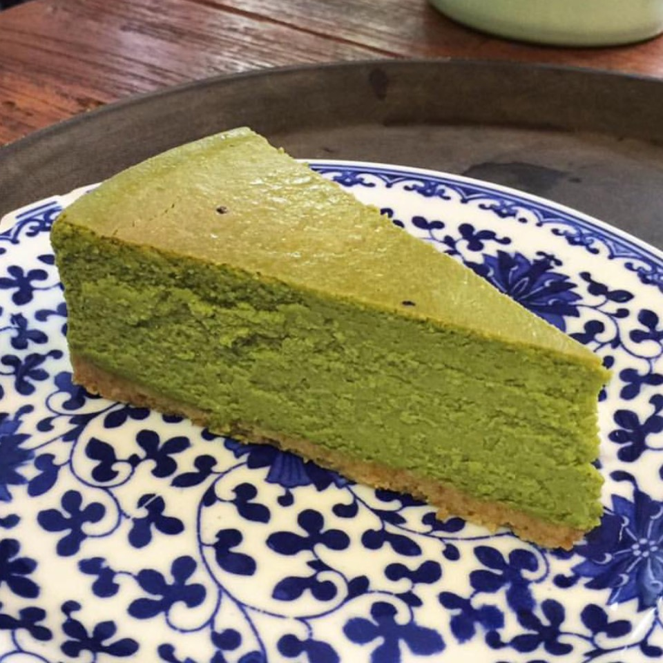 Matcha Green Tea Cheesecake at Teakha 茶.家 on #foodmento http://foodmento.com/place/7290