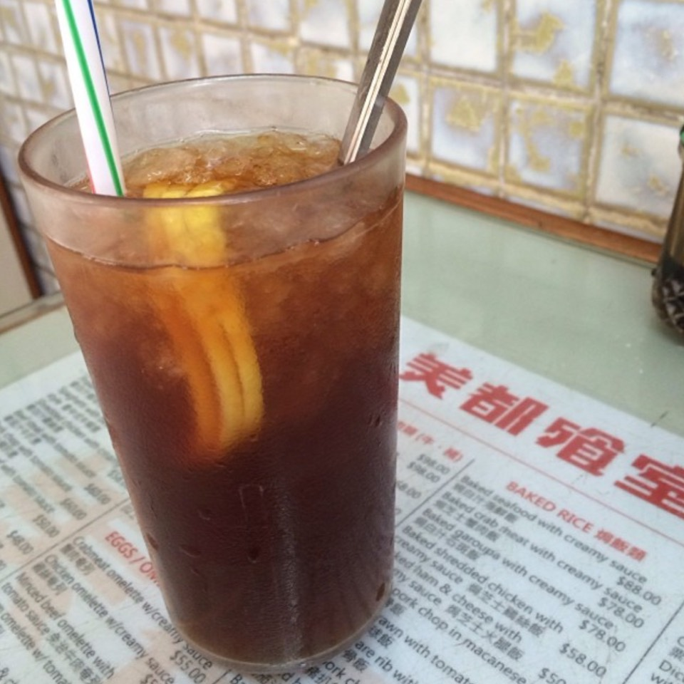 Iced Lemon Tea at Mido Café 美都餐室 on #foodmento http://foodmento.com/place/7462