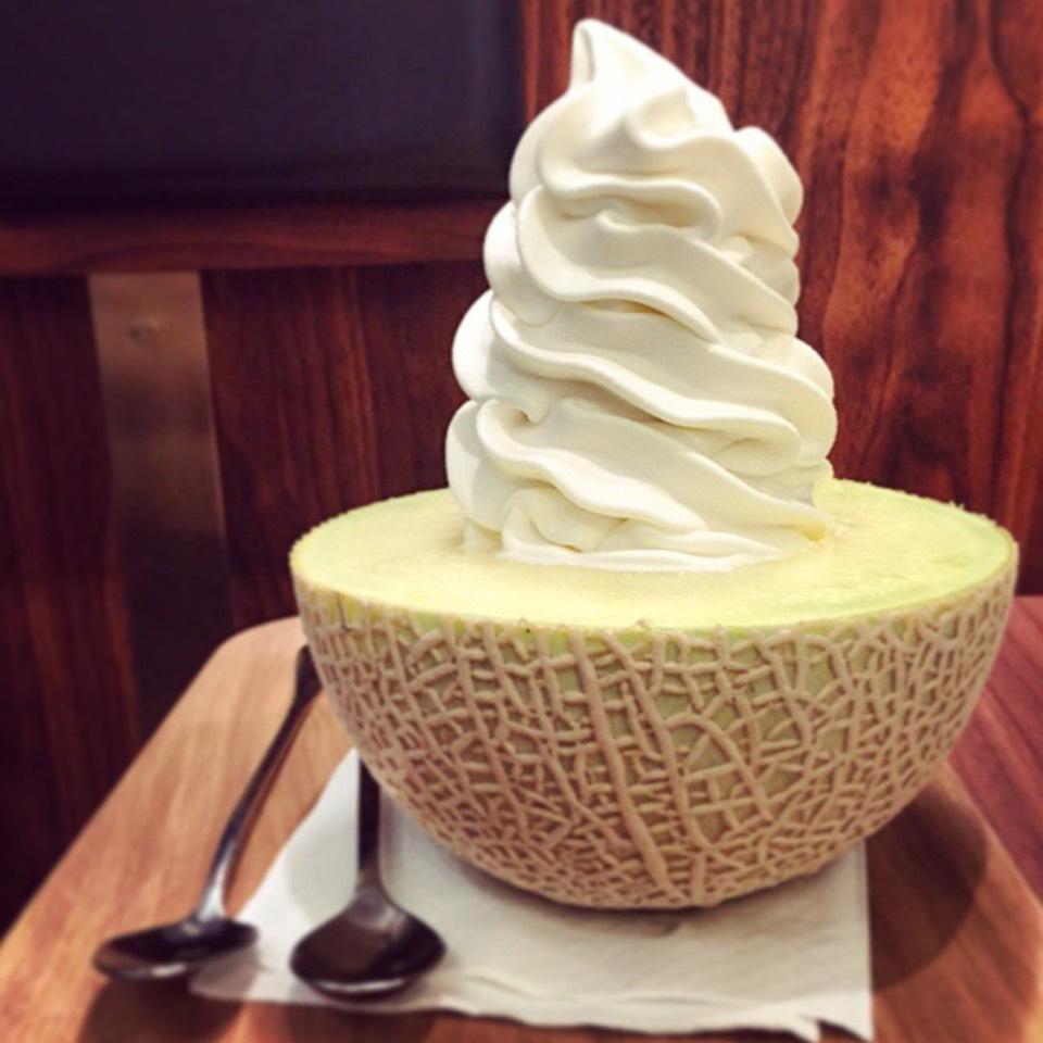 Melon Soft Serve Parfait at I Cremeria on #foodmento http://foodmento.com/place/8608