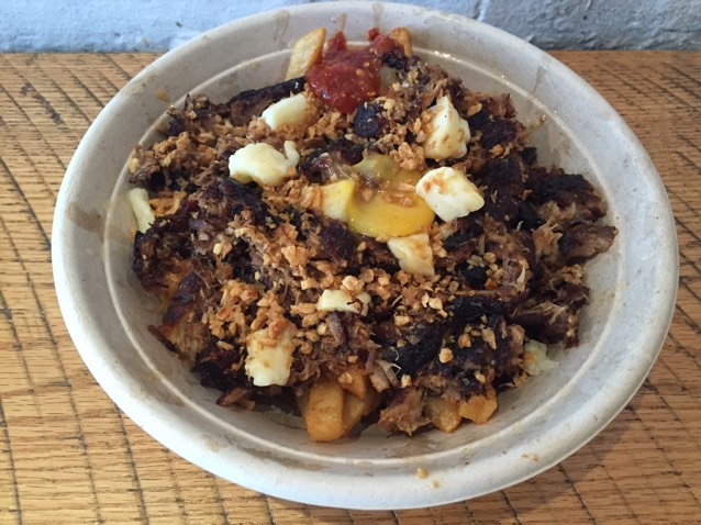 Sisig Poutine at Lumpia Shack Snackbar on #foodmento http://foodmento.com/place/3305
