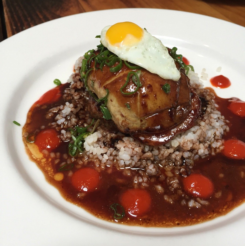 Foie Gras Loco Moco at Animal on #foodmento http://foodmento.com/place/4182