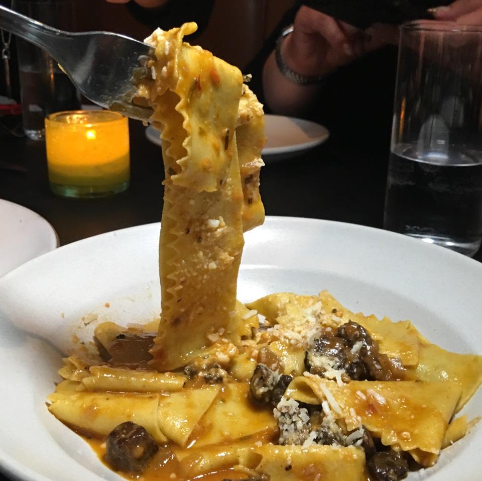 Pappardelle (Capretto, Saffron, Mint) at Pasquale Jones on #foodmento http://foodmento.com/place/10403