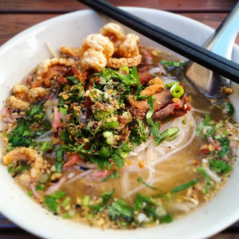 Sukhothai Noodle Soup at Pye Boat Noodle on #foodmento http://foodmento.com/place/10611