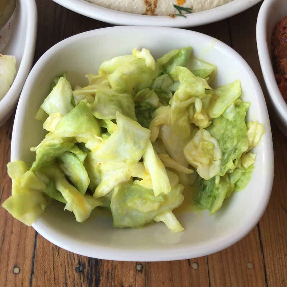 Cabbage, Amba, Lemon (Salatim) at Dizengoff on #foodmento http://foodmento.com/place/10616