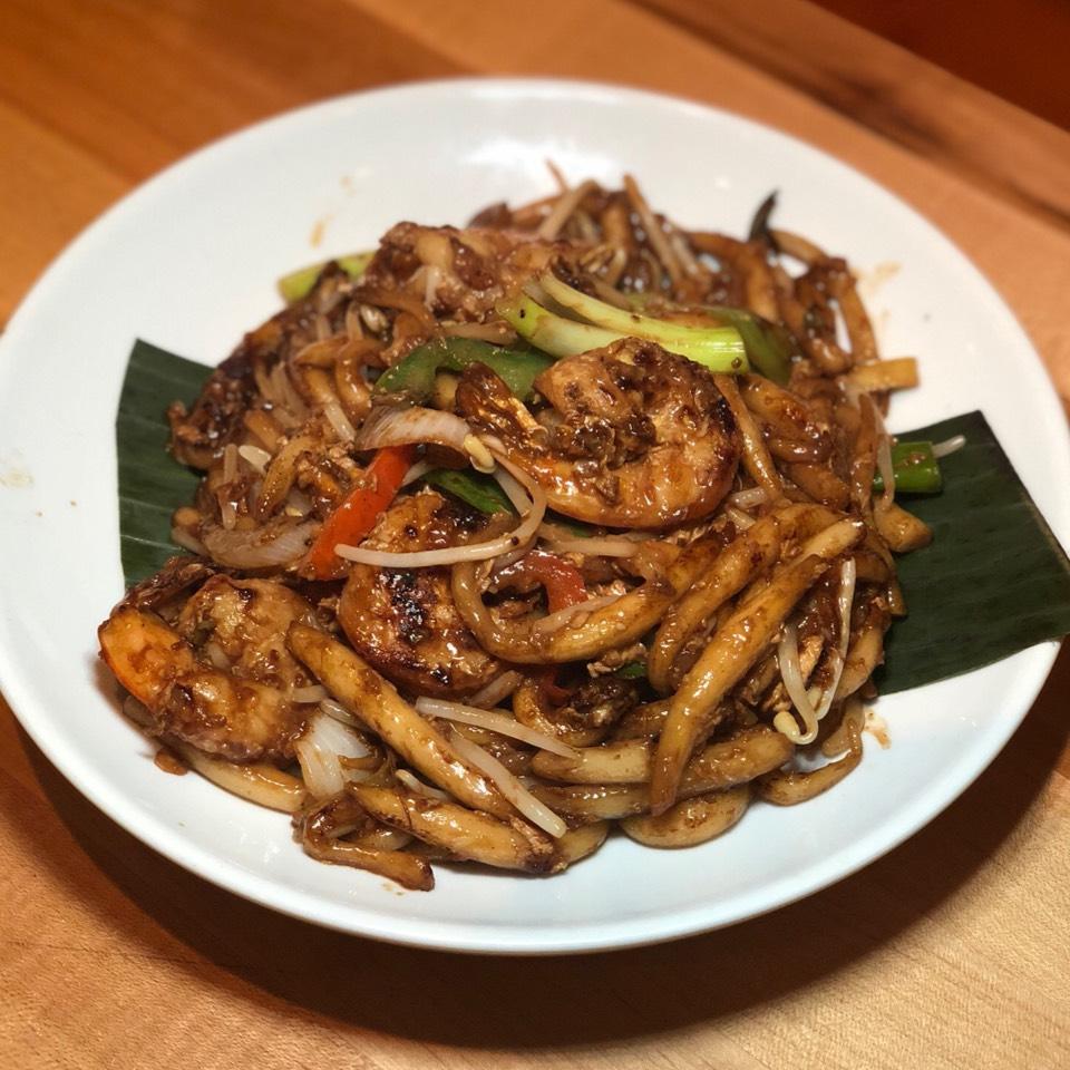 Stir Fry Pearl Noodles At Wok Wok Southeast Asian Kitchen