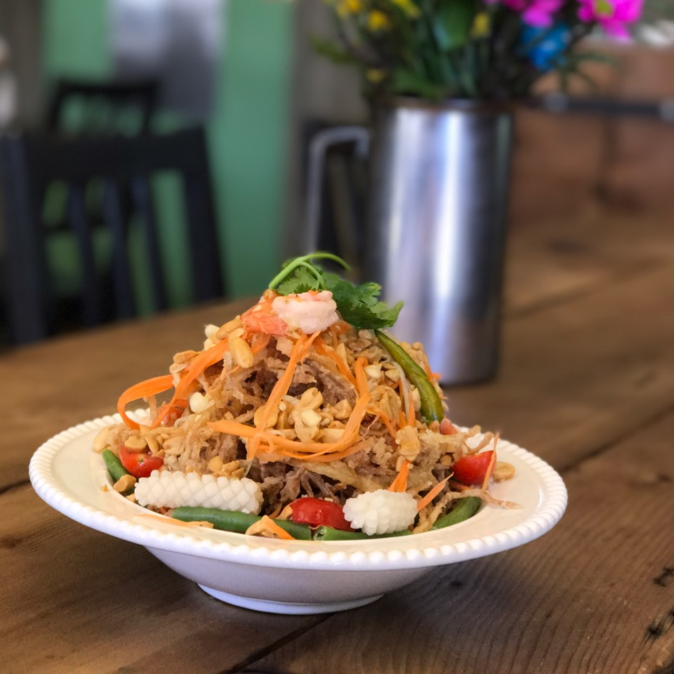 Crispy Papaya Salad at Thailand's Center Point on #foodmento http://foodmento.com/place/10712