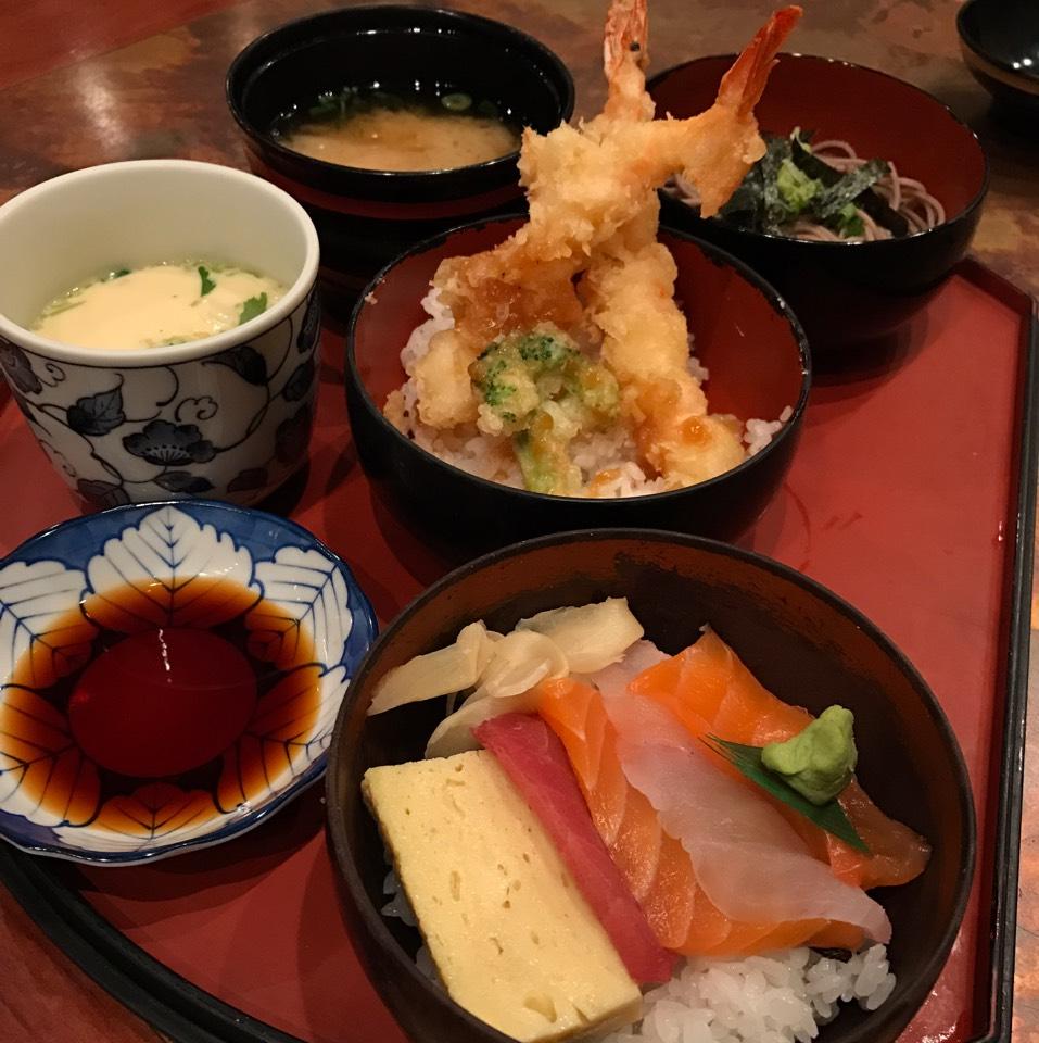 Sanmizen Lunch Combo at Wajima on #foodmento http://foodmento.com/place/10813
