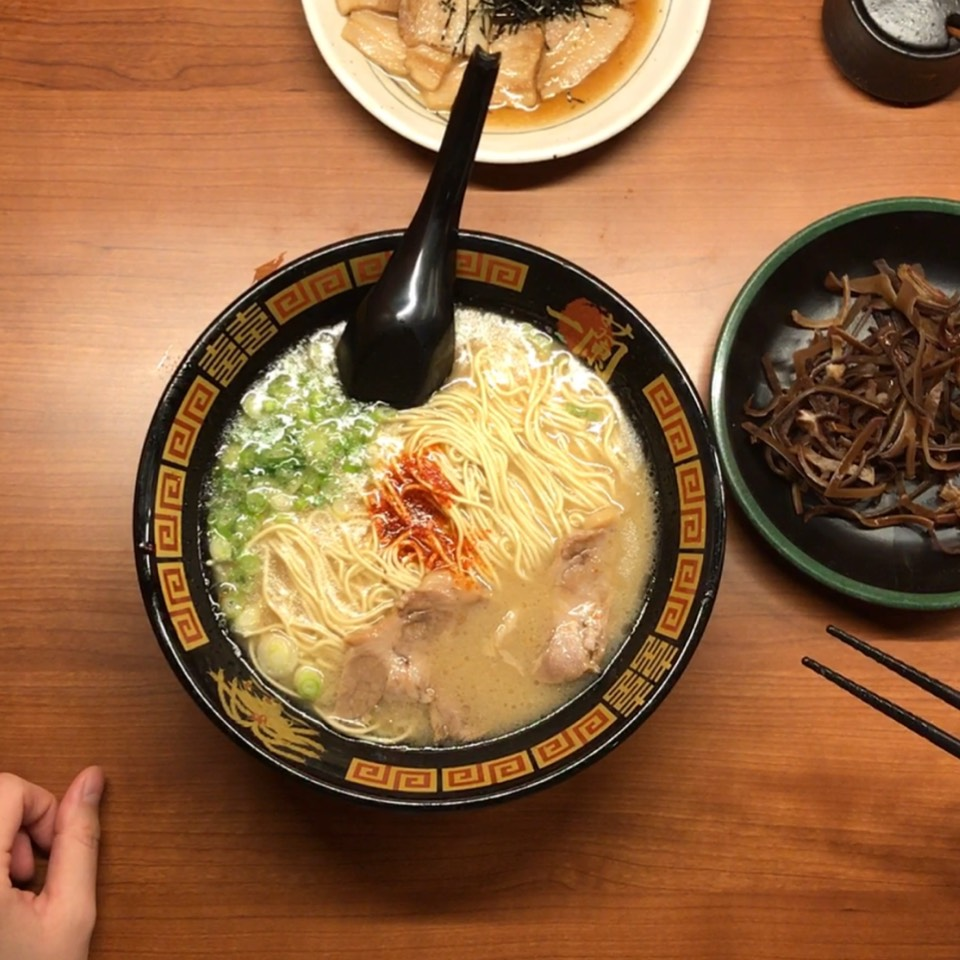 The Classic Tonkotsu Ramen at Ichiran on #foodmento http://foodmento.com/place/10870